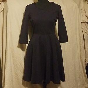 Boden navy dress